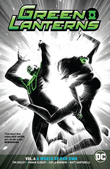 Green Lanterns (2016-) Vol. 6: A World of Our Own