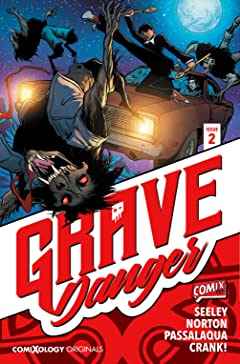 Grave Danger (comiXology Originals) #2 (of 5)