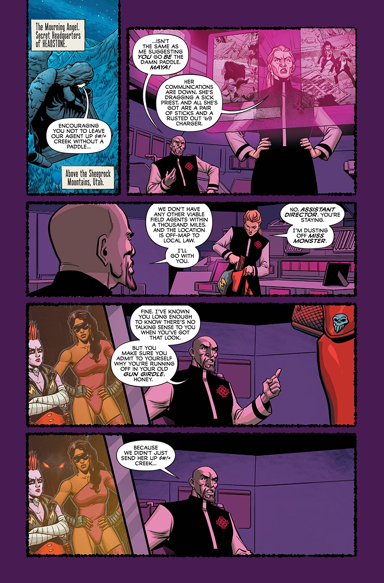 Grave Danger (comiXology Originals) #3 (of 5)
