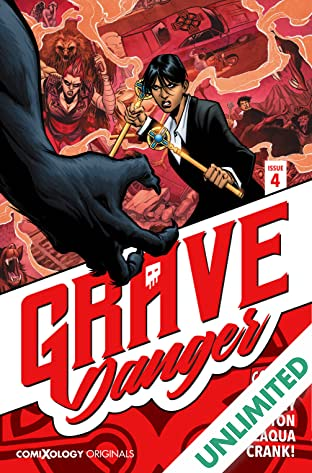 Grave Danger (comiXology Originals) #4 (of 5)