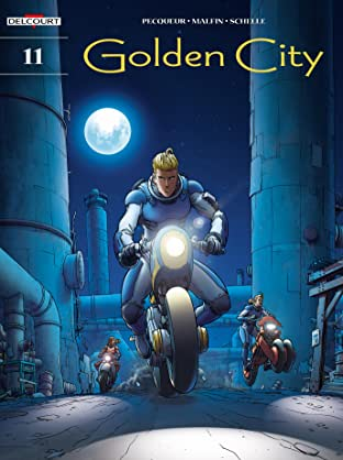Golden City Vol. 11: The Fugitives