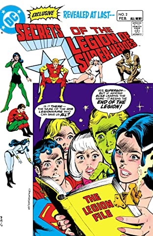 Secrets of the Legion of Super-Heroes (1981) #2