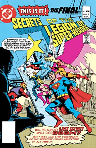 Secrets of the Legion of Super-Heroes (1981) #3
