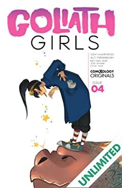 Goliath Girls (comiXology Originals) #4 (of 5)