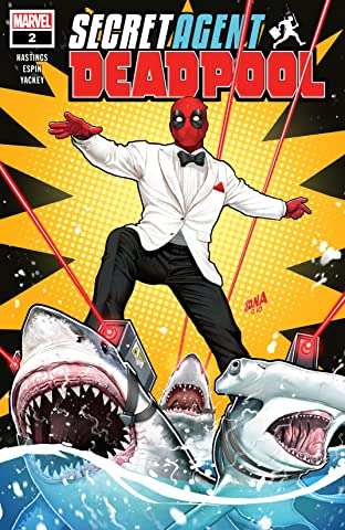 Deadpool: Secret Agent Deadpool (2018) (comiXology Originals) No.2 (sur 6)