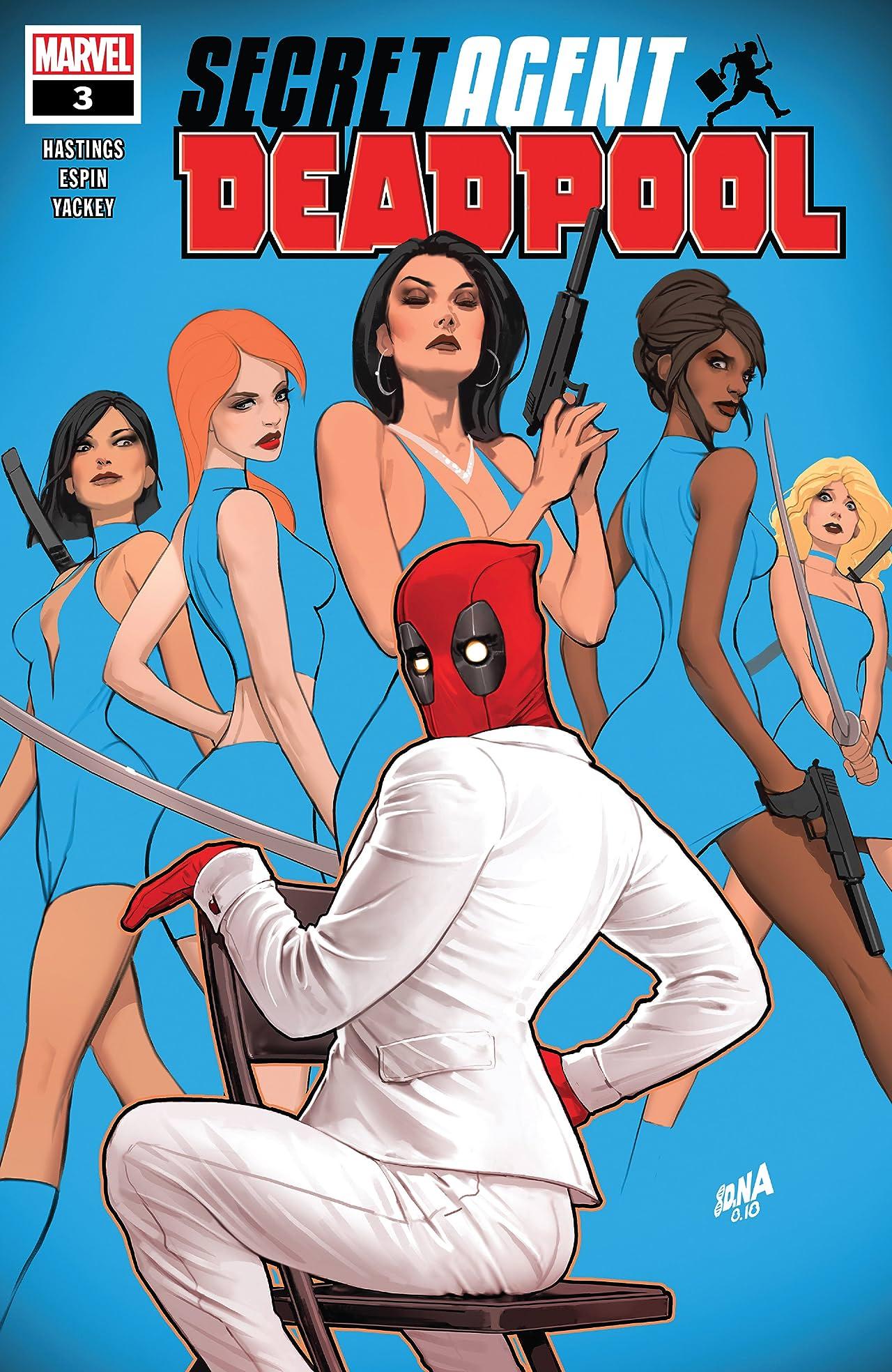 Deadpool: Secret Agent Deadpool (2018) (comiXology Originals) #3 (of 6)