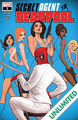 Deadpool: Secret Agent Deadpool (2018) (comiXology Originals) #3 (of 6)