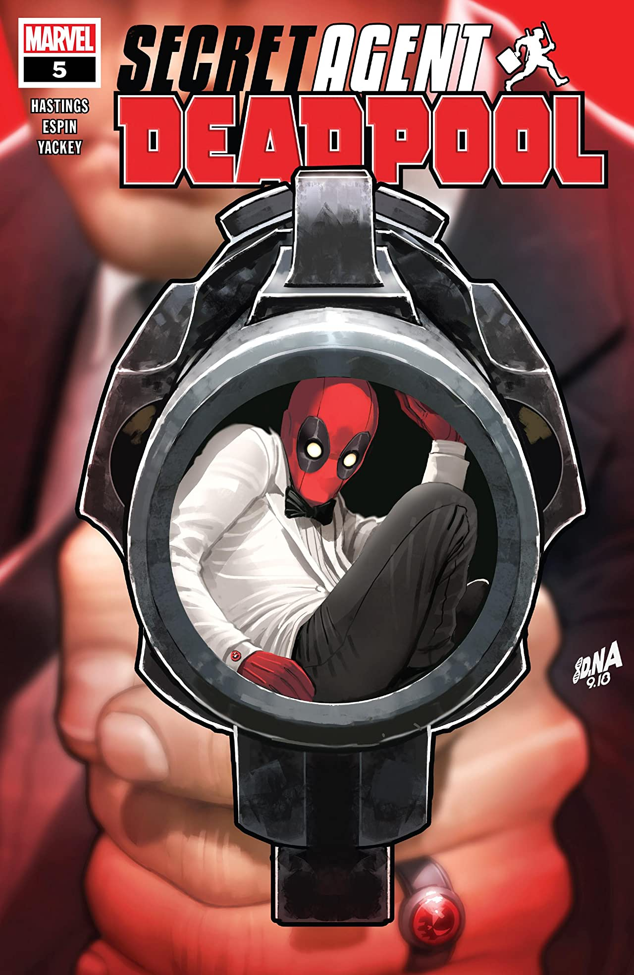 Deadpool: Secret Agent Deadpool (2018) (comiXology Originals) #5 (of 6)
