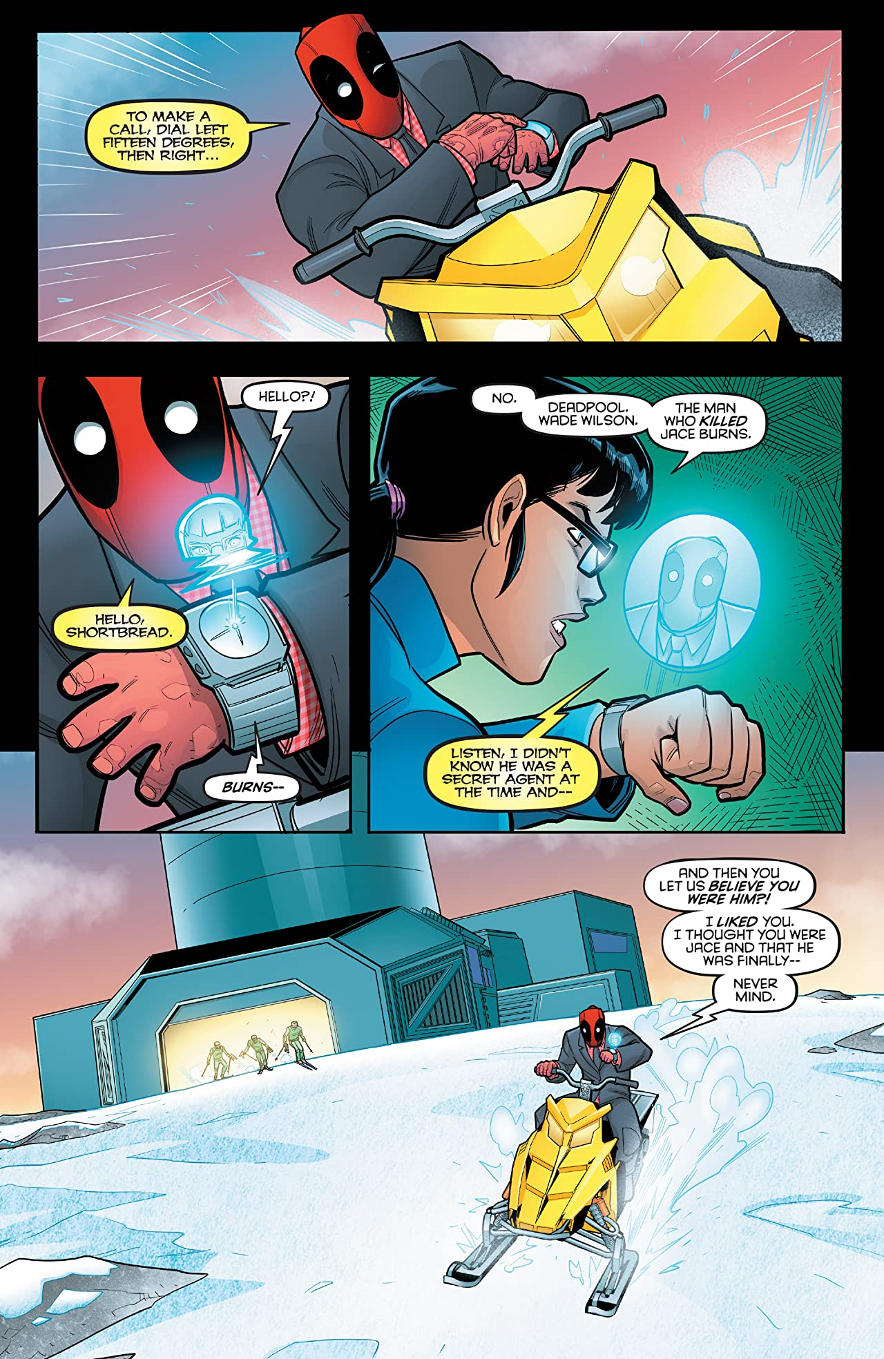 Deadpool: Secret Agent Deadpool (2018) (comiXology Originals) #5 (of 6)