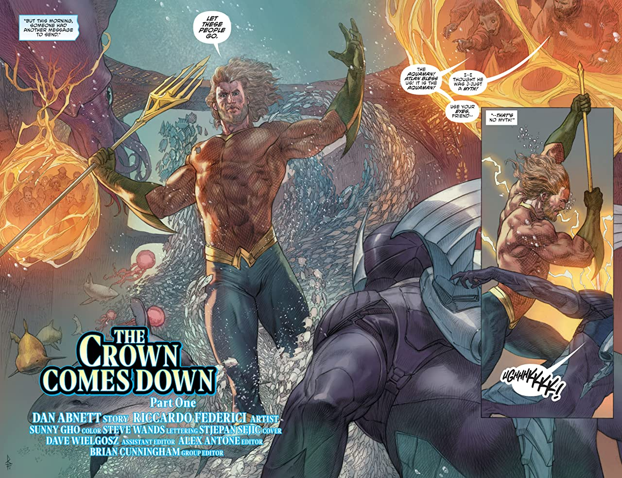 Aquaman (2016-) Vol. 5: The Crown Comes Down
