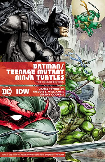 Batman/Teenage Mutant Ninja Turtles (2015-2016) Deluxe Edition