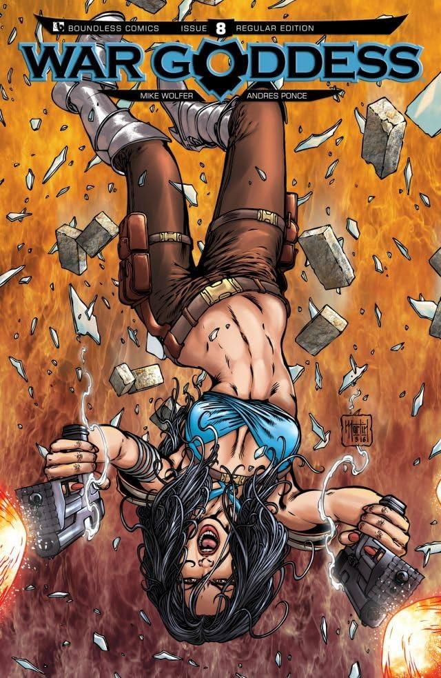War Goddess #8