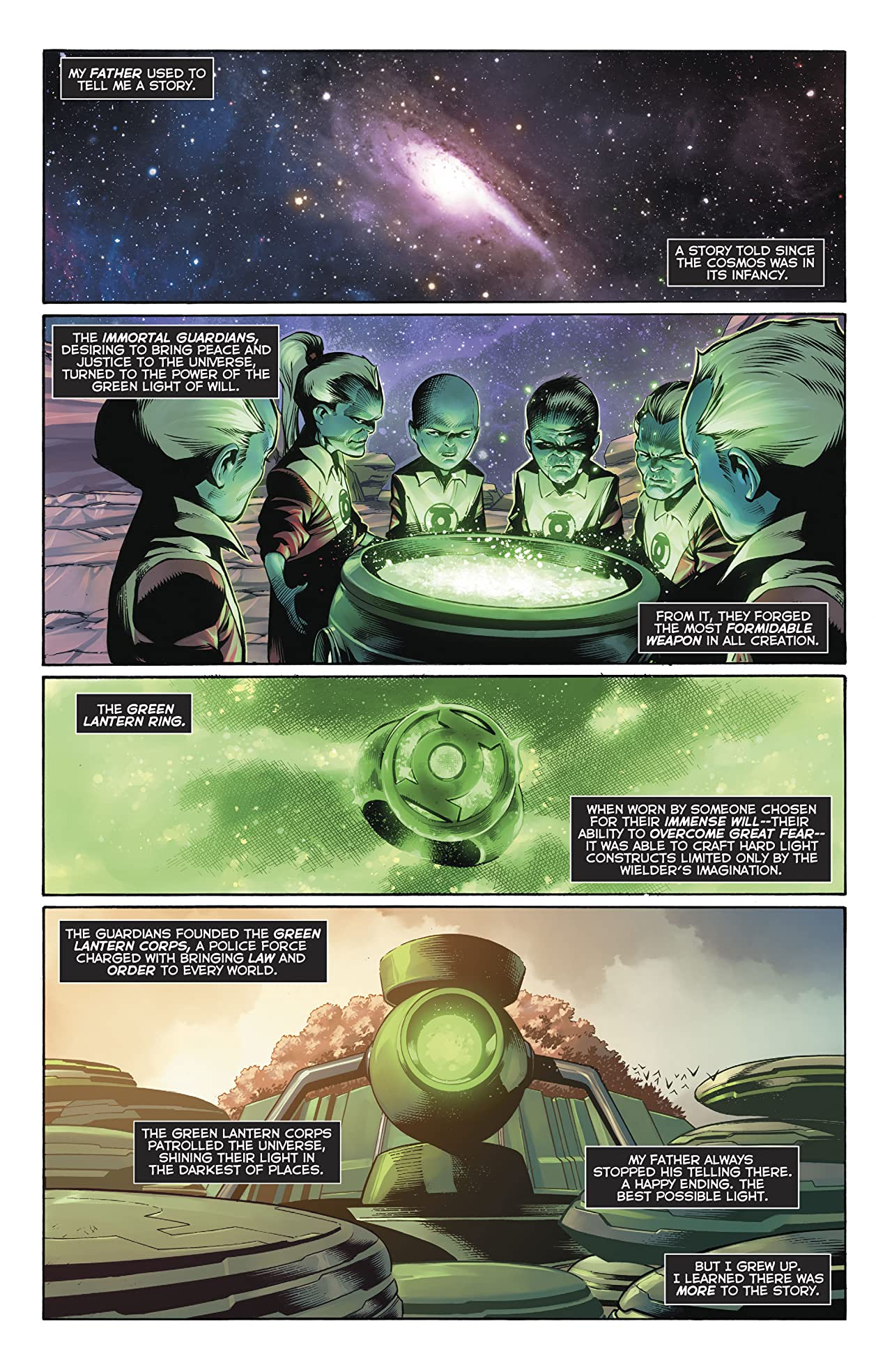 Hal Jordan and the Green Lantern Corps (2016-2018) #48