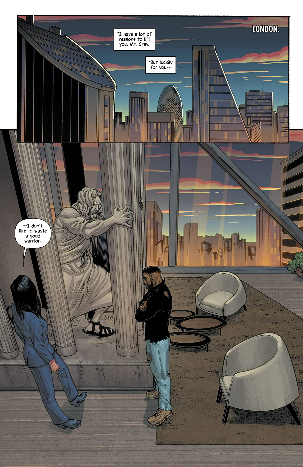 The Wild Storm: Michael Cray (2017-) #9