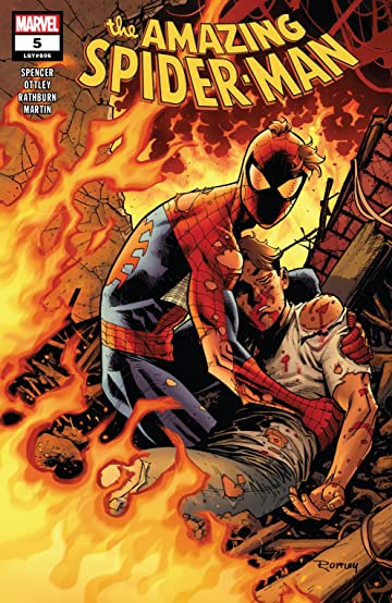 Image result for amazing spider-man #5 2018