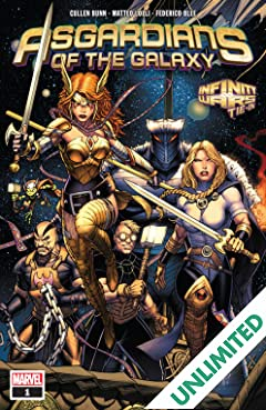 Asgardians of the Galaxy (2018-2019) #1