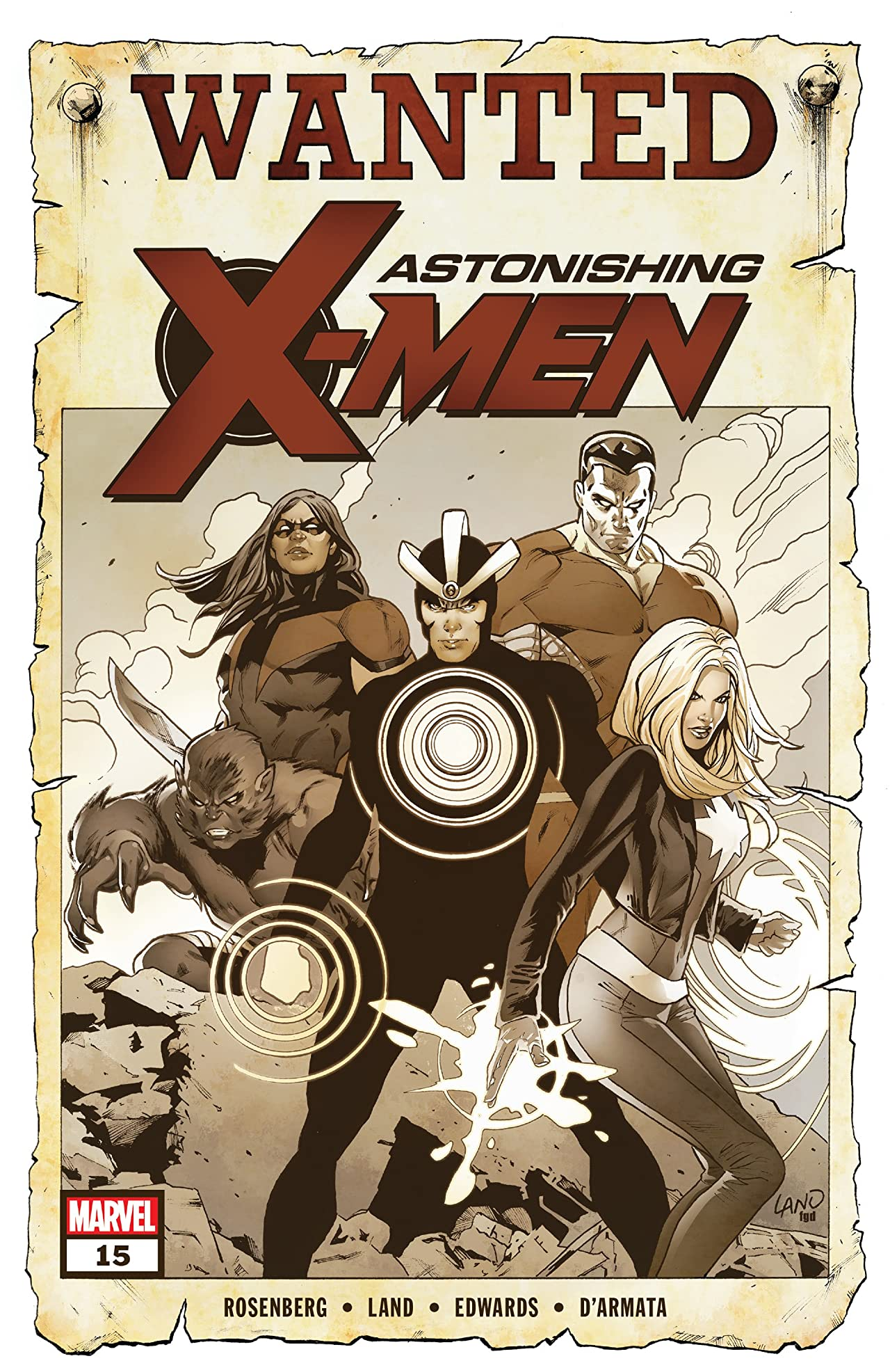 Astonishing X-Men (2017-2018) #15