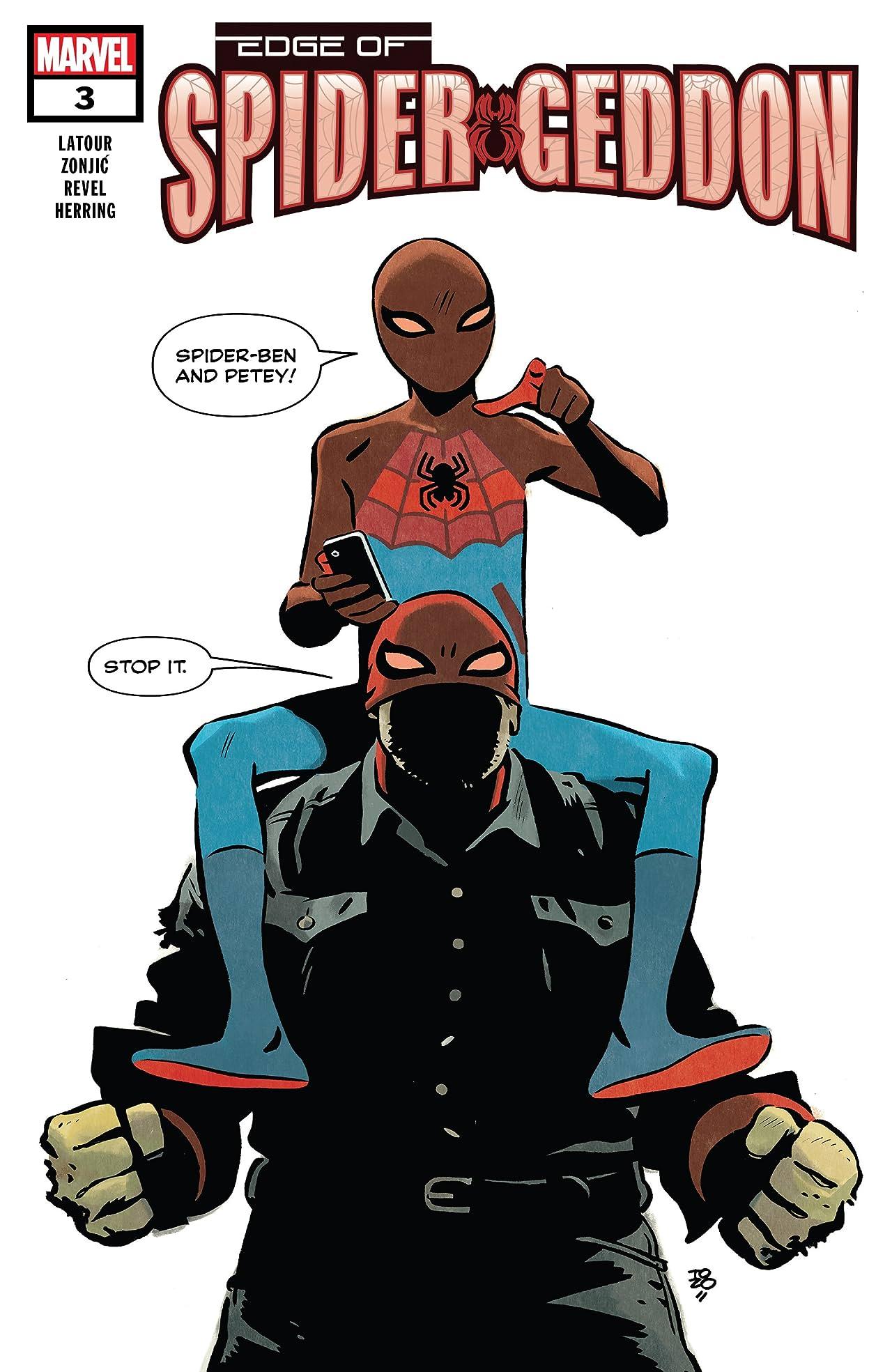 Edge of Spider-Geddon (2018) No.3 (sur 4)