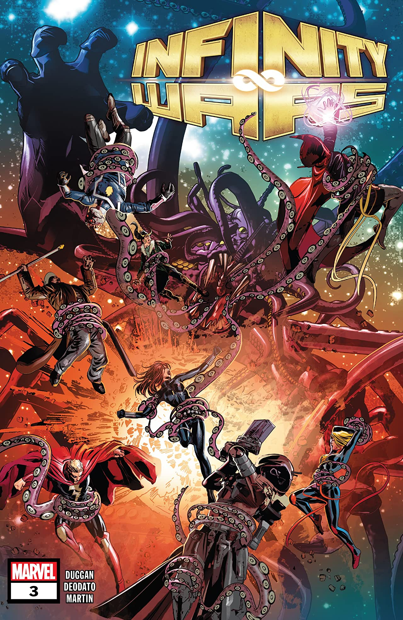 Infinity Wars (2018) No.3 (sur 6)