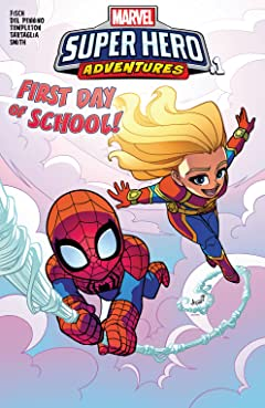 Marvel Super Hero Adventures: Captain Marvel - First Day Of School (2018) No.1