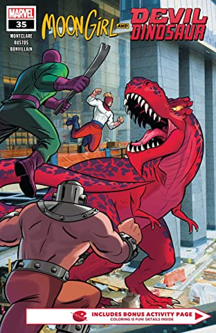Moon Girl and Devil Dinosaur (2015-) No.35