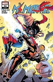 Ms. Marvel (2015-2019) No.34