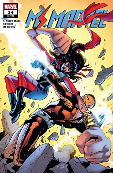 Ms. Marvel (2015-2019) #34