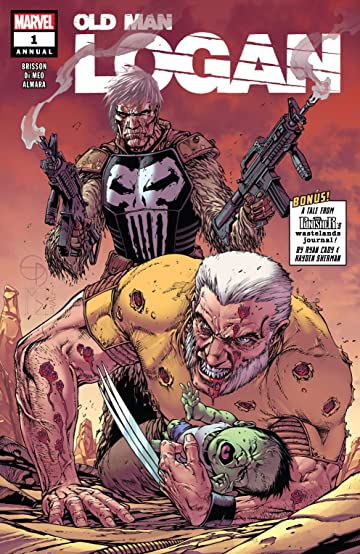 old man logan 2016 annual 1 marvel comics