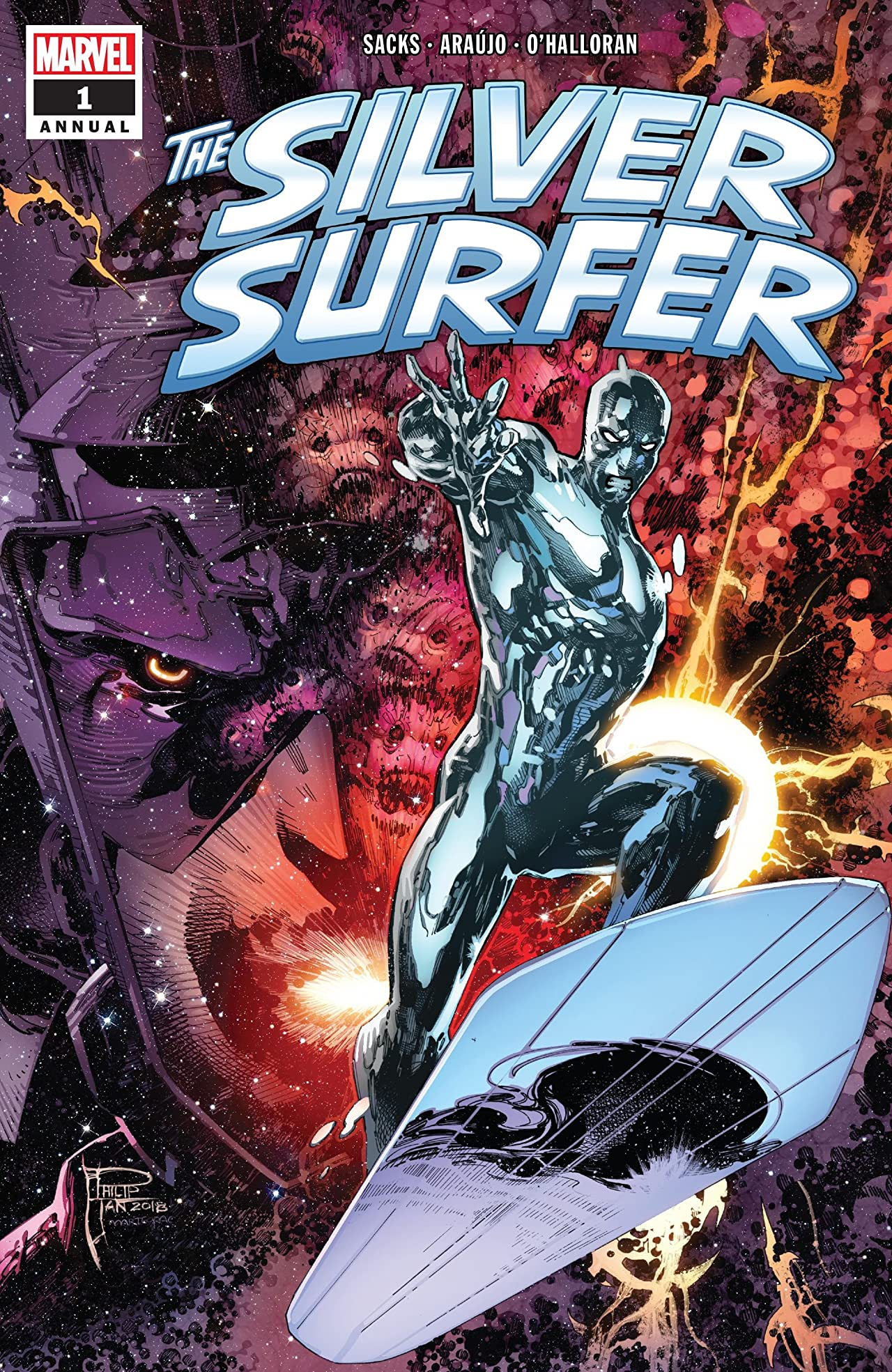 Silver Surfer Annual (2018) No.1