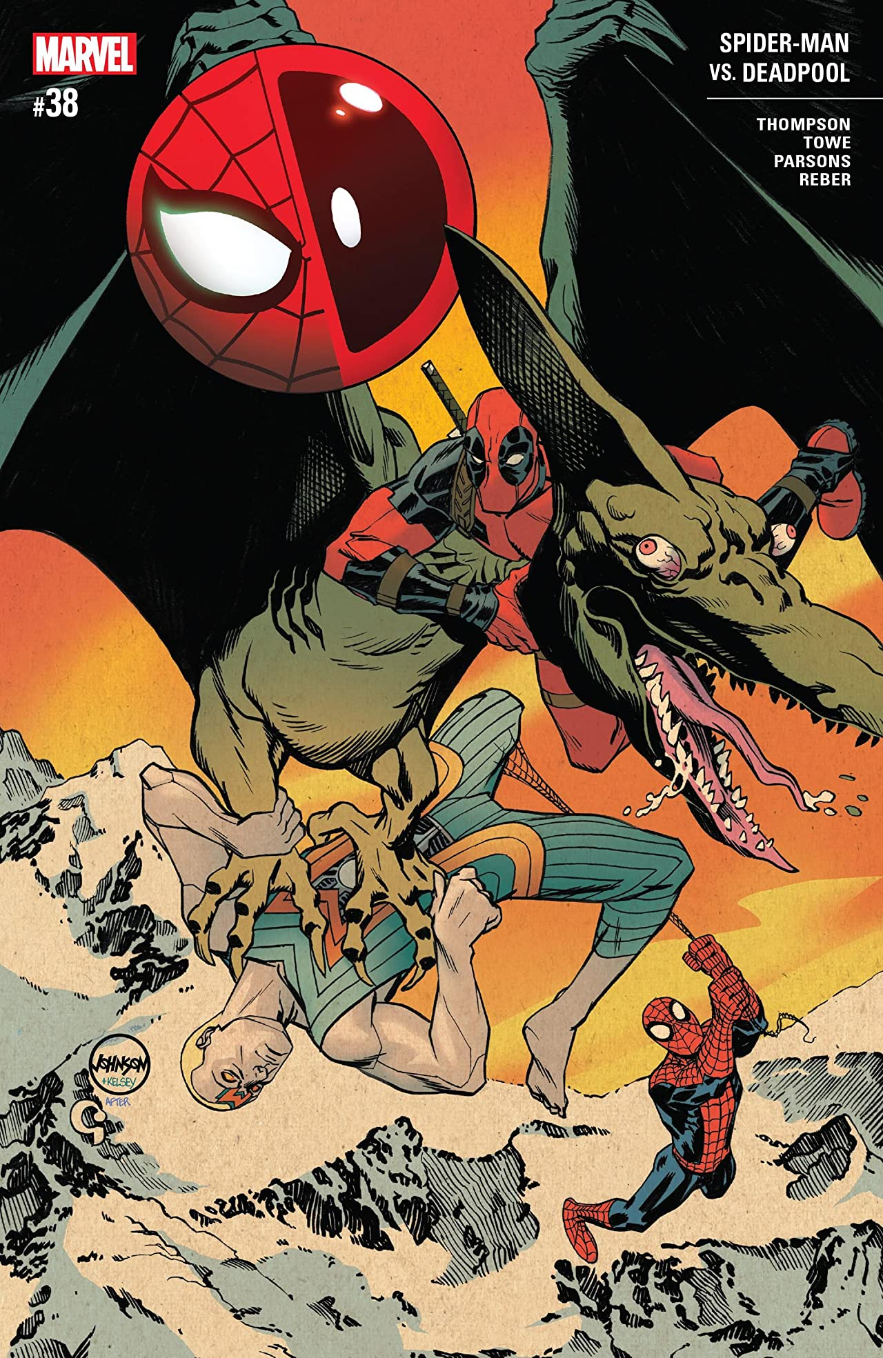 Spider-Man/Deadpool (2016-) No.38