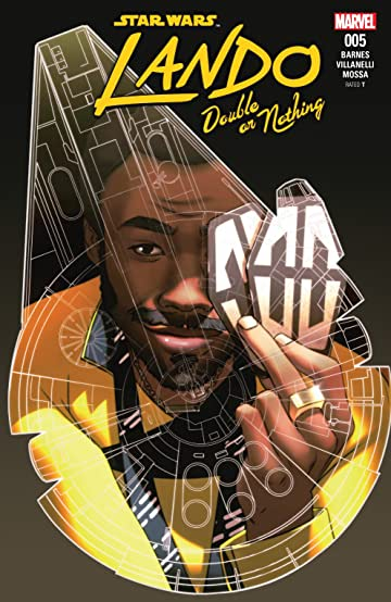 Star Wars: Lando - Double Or Nothing (2018) #5 (of 5)