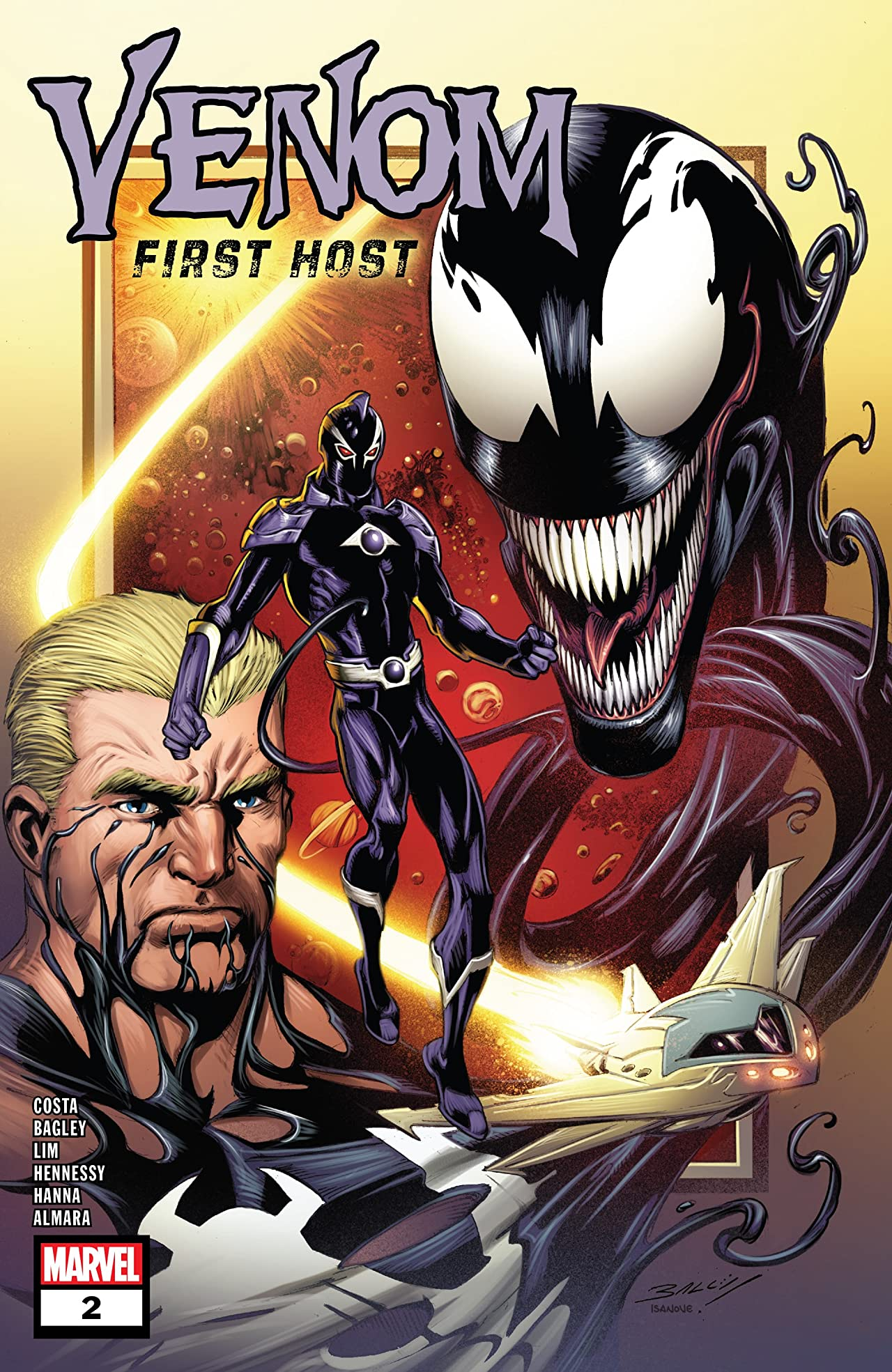 Venom: First Host (2018) No.2 (sur 5)