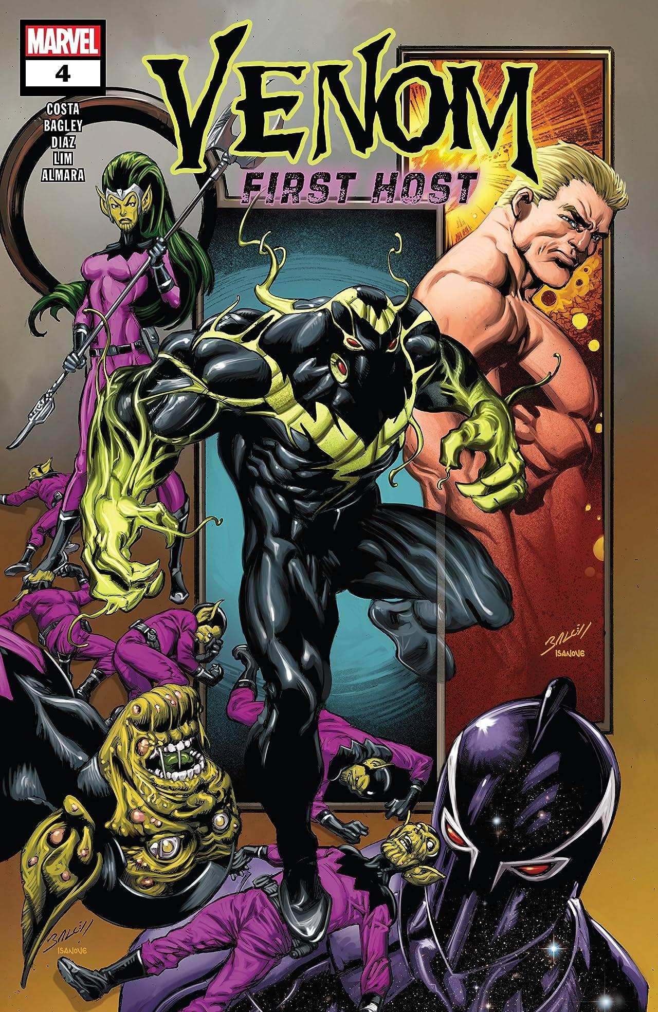 Venom: First Host (2018) No.4 (sur 5)