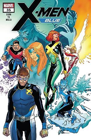 X-Men Blue (2017-) #35