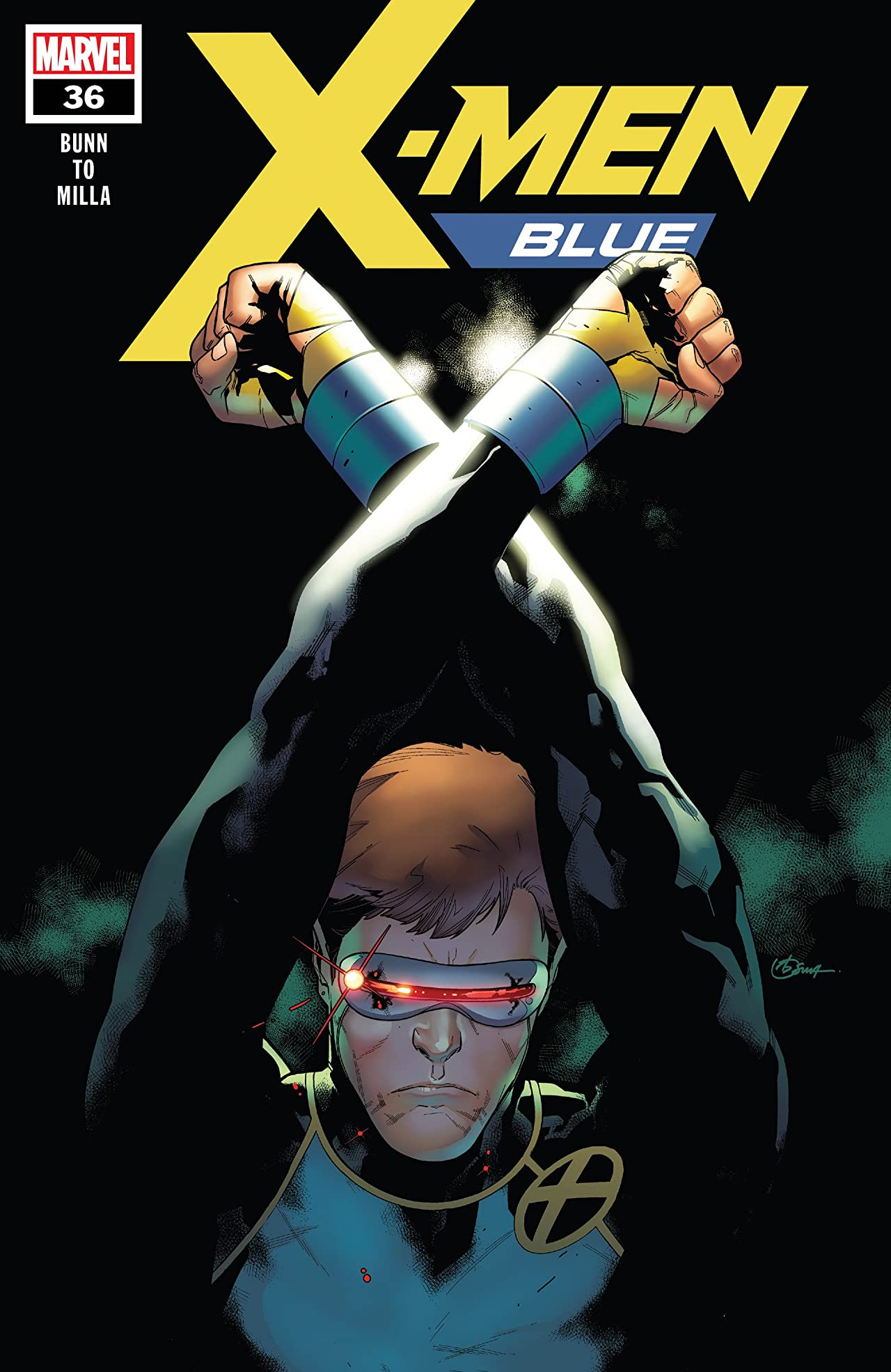 X-Men Blue (2017-) No.36