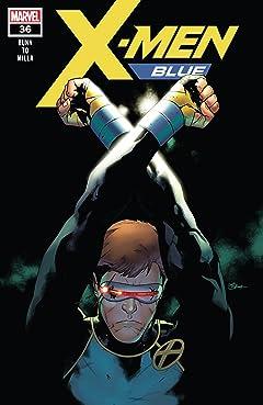 X-Men Blue (2017-2018) #36