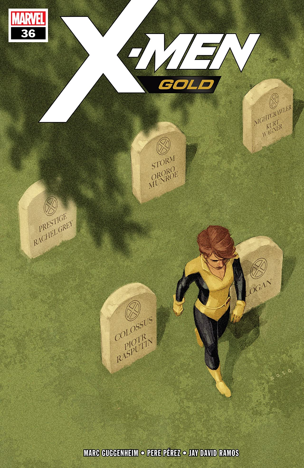 X-Men Gold (2017-) No.36
