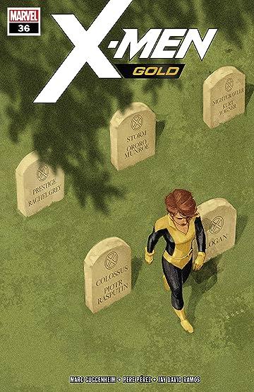 X-Men Gold (2017-2018) #36