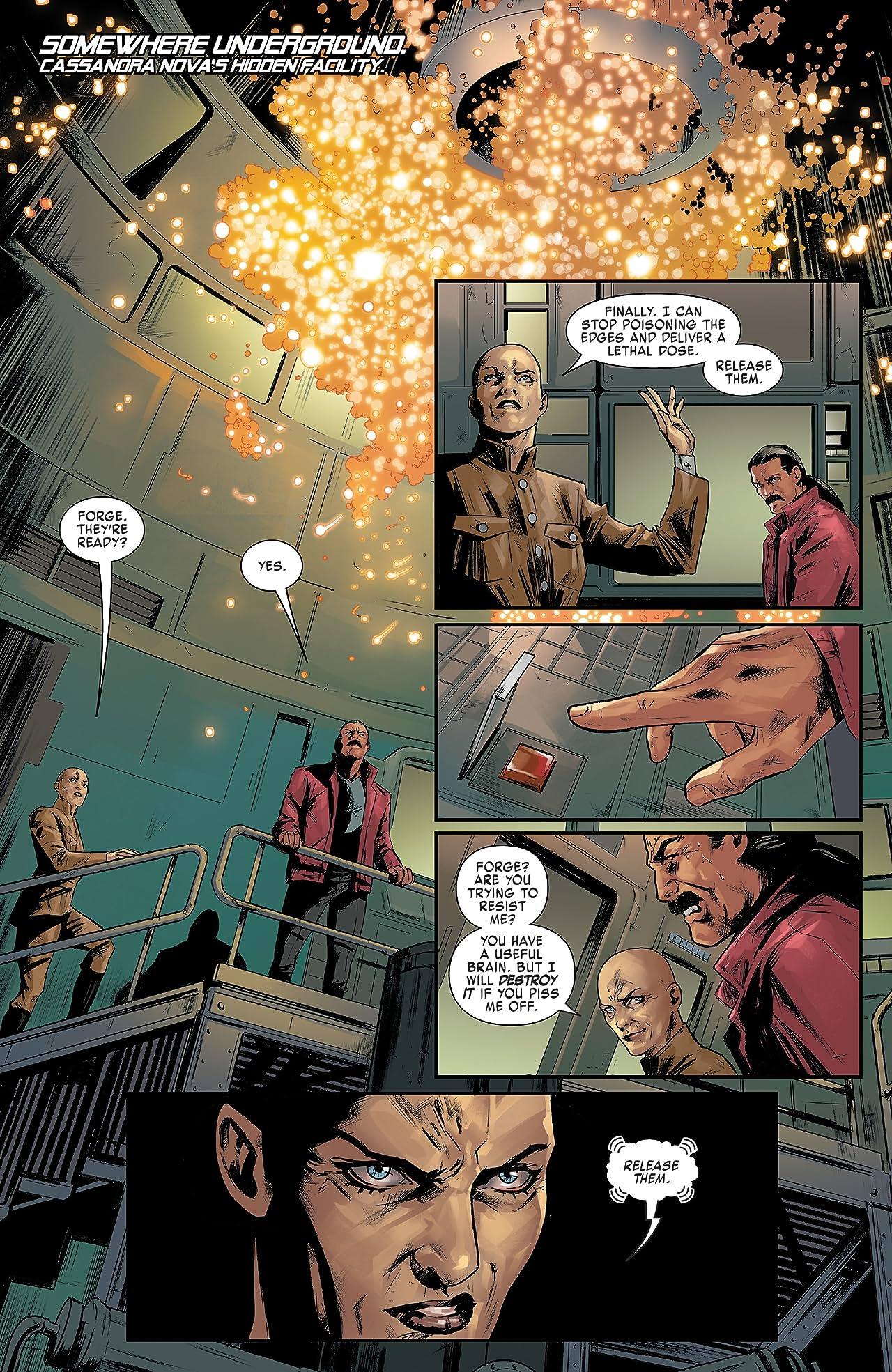 X-Men Red (2018) #8