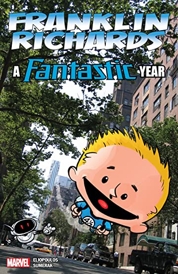 franklin richards a fantastic year marvel comics