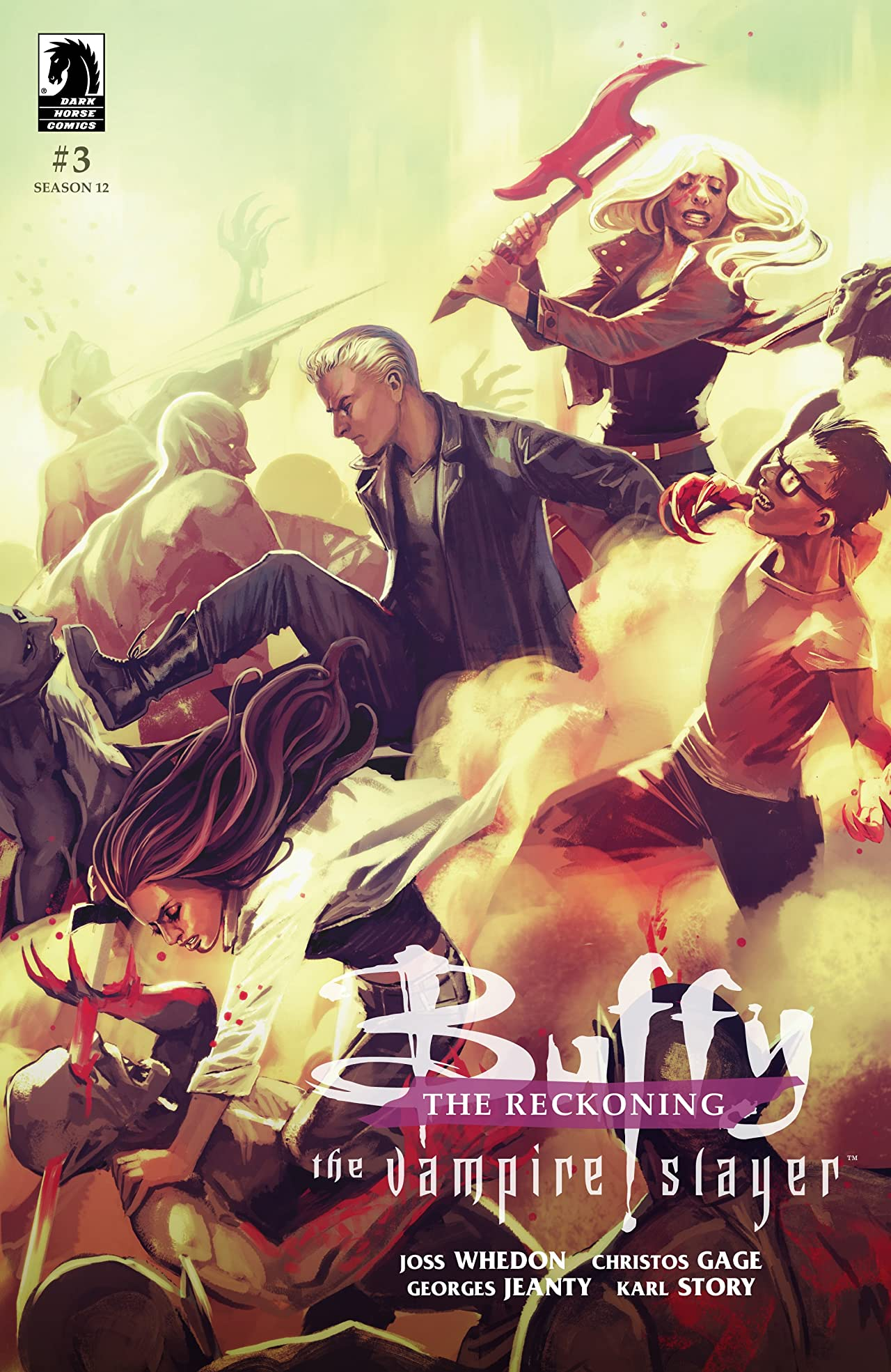 Buffy the Vampire Slayer Season 12: The Reckoning No.3