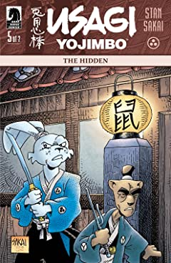 Usagi Yojimbo: The Hidden #5