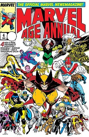 Marvel Age Annual (1985-1988) #4