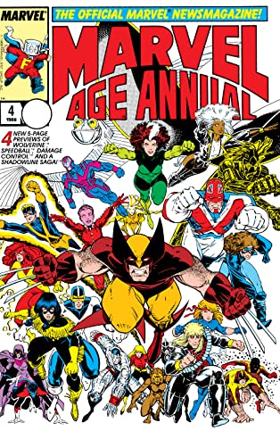 Marvel Age Annual (1985-1988) #4