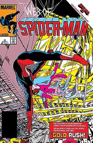 Web of Spider-Man (1985-1995) No.6