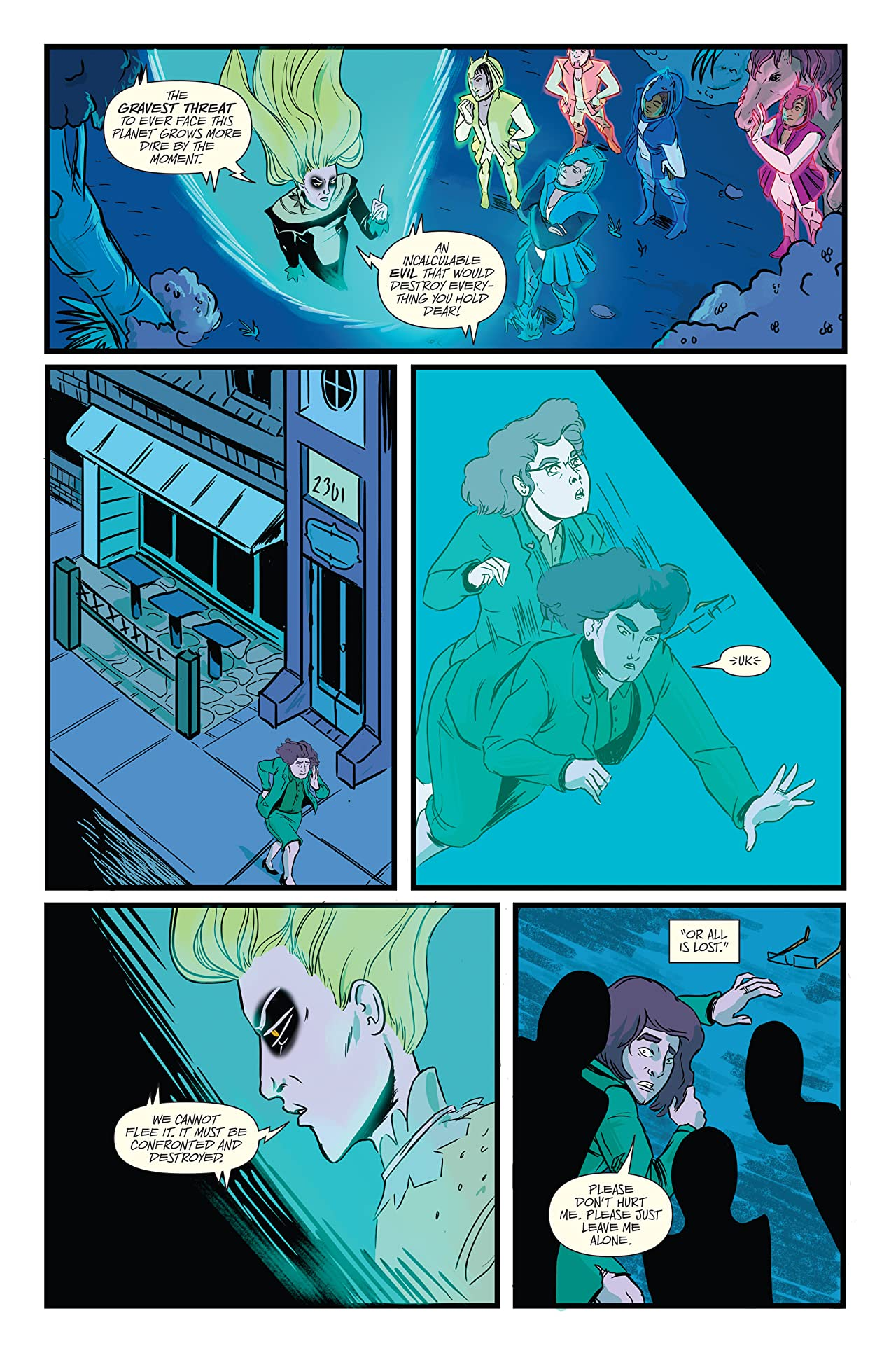 Teenage Wasteland (comiXology Originals) No.3 (sur 5)