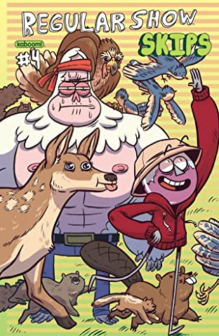 Regular Show: Skips #4 (of 6)