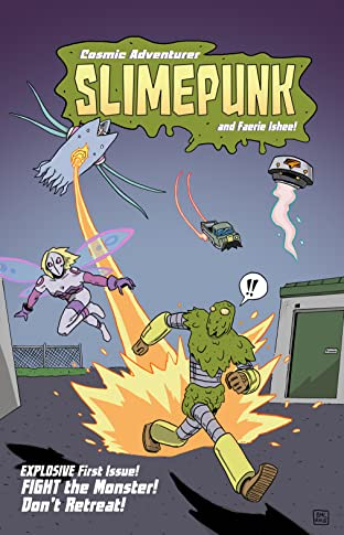 Cosmic Adventurer Slimepunk #1