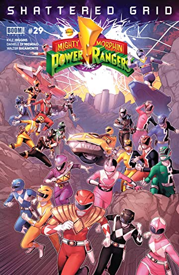 Mighty Morphin Power Rangers #29