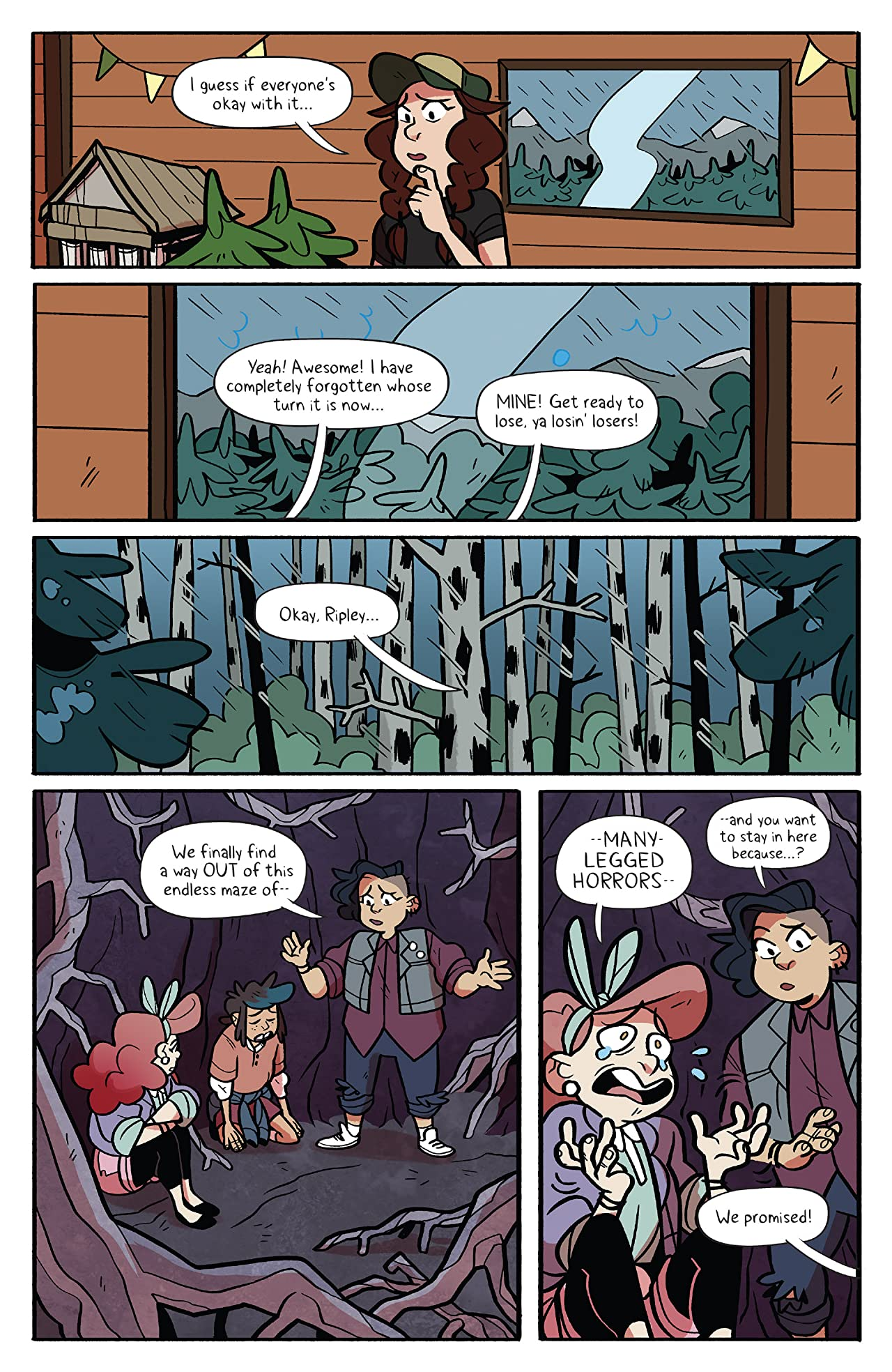 Lumberjanes #52